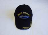 DESERT STORM VETERAN EMBROIDERED BASEBALL CAP